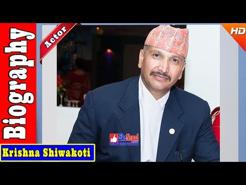 Krishna Shiwakoti - Nepali Actor Biography Video