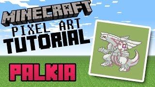 Palkia - Minecraft Pixel Art Tutorial