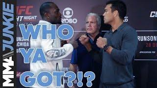 Who Ya Got?!? Brunson vs. Machida