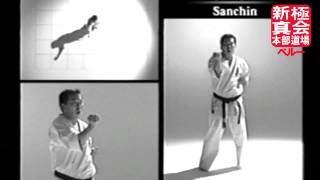Shinkyokushin Kata - Sanchin + Zoom + Slow motion