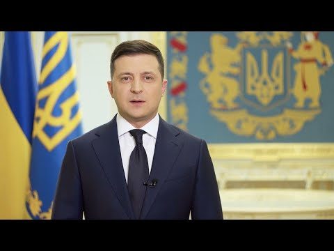Звернення Володимира Зеленського щодо нових обмежень задля подолання коронавірусу.