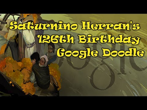 Saturnino Herran Google Doodle [HD]