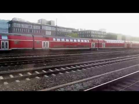 Munchen, S- 2 bahn from Hauptbahnhof to Dachau S-bahn Station