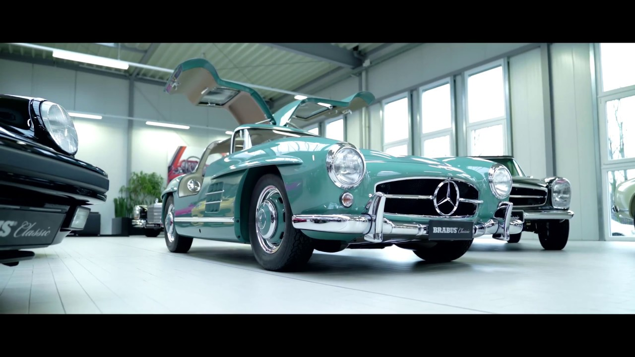 BRABUS Classic Mercedes Benz 300 SL Gullwing Short Film 4K
