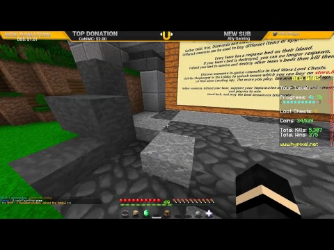 Hypixel mini games - How I got Banned