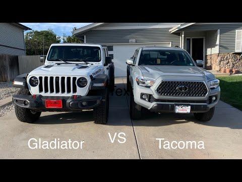 Gladiator VS Tacoma - Quick Exterior Comparison + Which One? - 2019.40