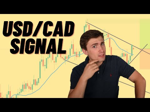 Selling USD/CAD Setup: Full Trade Breakdown | Live Forex Trading