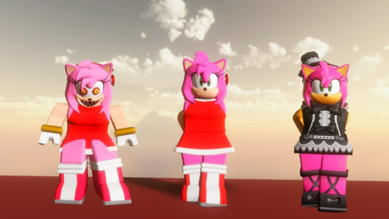 Amy Rose Roblox Sonic Eclipse Amy Rose Roblox Youtube