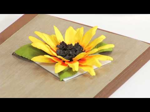 How to Use Sizzix Thinlits Sunflower Flower Die 658417