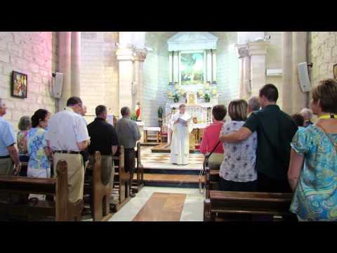 The Wedding Church in Cana Israel