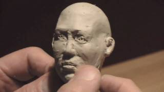 Head Sculpt part-1 Using Plasteline