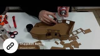 Mimari Maket nasıl yapılır? How to make a small Cardboard House.