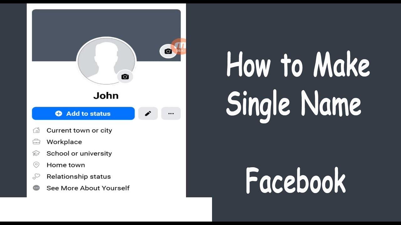10 Life Hacks How to make your name in facebook one word with pictures