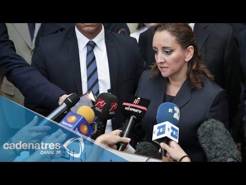 Claudia Ruiz Massieu visita a mexicanos heridos en Egipto