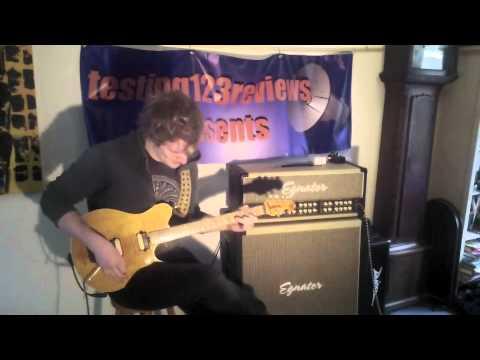 Musicman Eddie Van Halen Signature Demo by Josh Wibaut