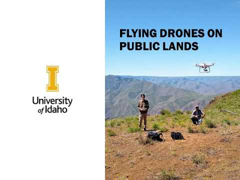 Idaho State And Local Drone Laws And Regulations, ASM/REM 404 Drone Operations