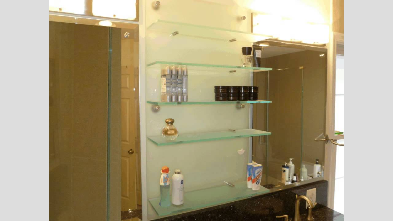 custom acrylic shelves bathroom shelves by kampen