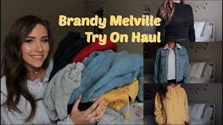 Big Brandy Melville Try-On Haul | Hoodies, Jackets, Tees & More!