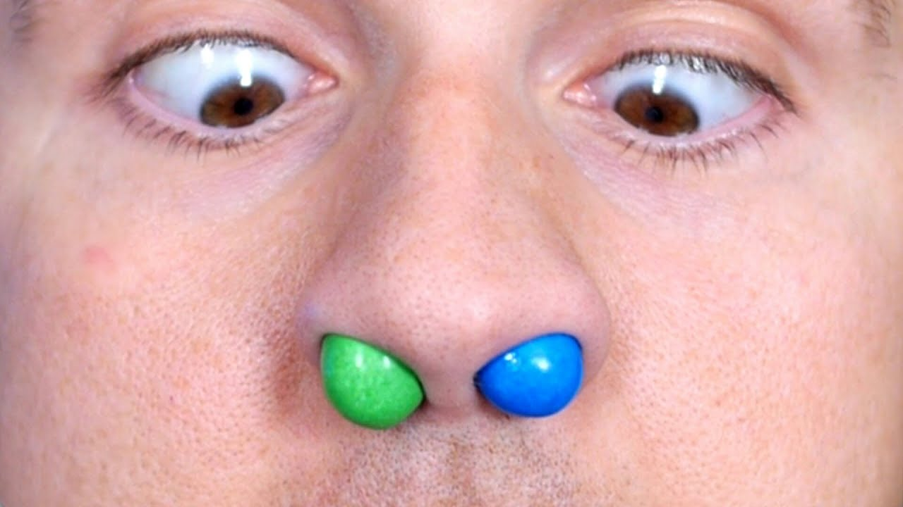 Download M&M'S STUCK IN NOSE!