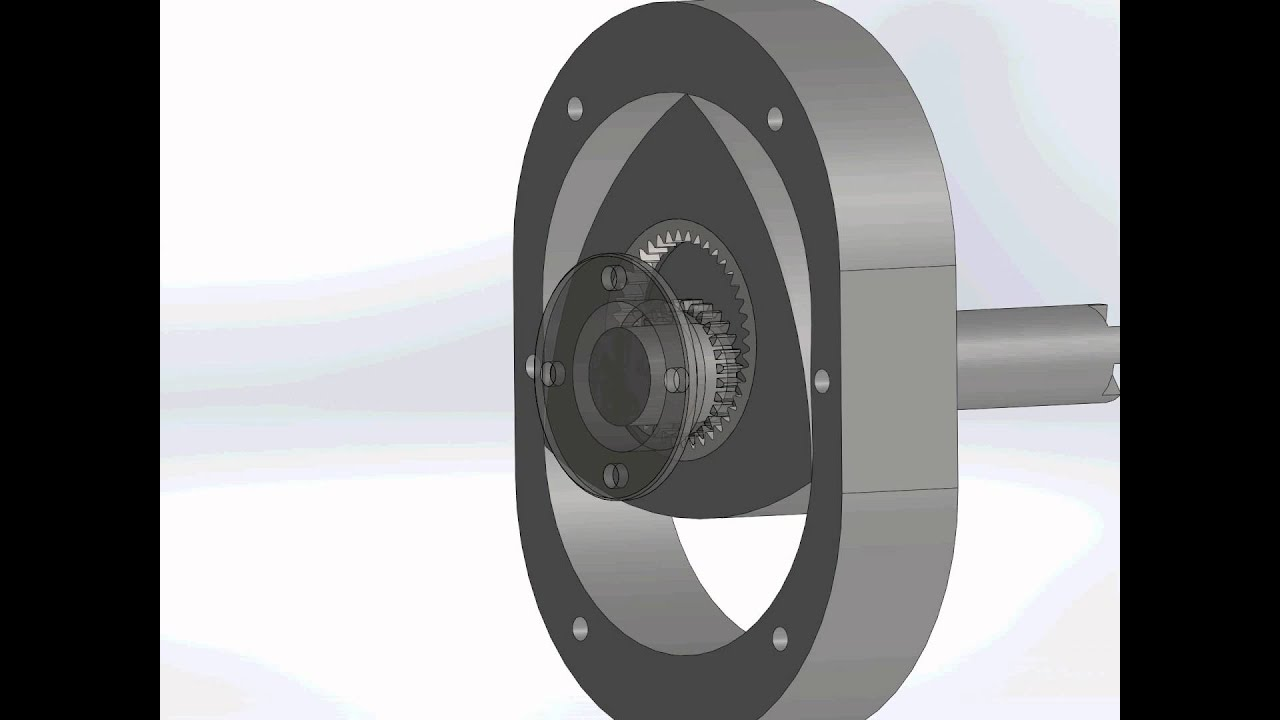 rotary motor solidworks