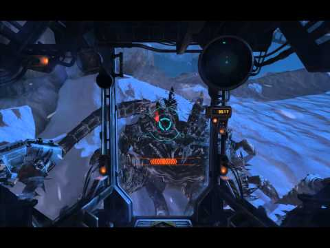 Lost Planet 3 - Mission 7 Readings During Storm: Tangaant Bossfight QTEs (Block, Grapple & Drill) PC