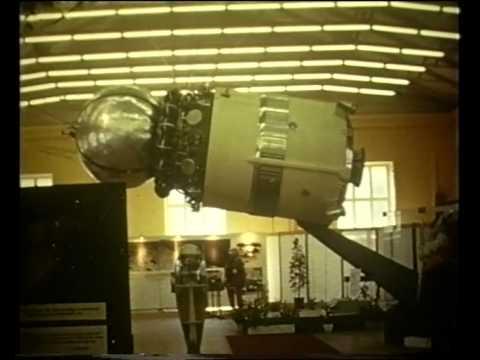 Soviet space exhibition in Stockholm 1966