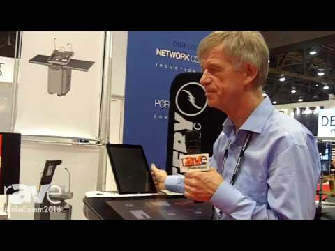 InfoComm 2016: Intelligent Lectern Systems Demonstrates Synergy Series Lecterns