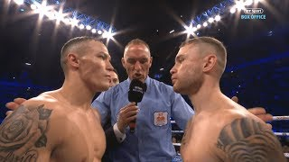 Josh Warrington v Carl Frampton full fight replay | Incredible world title fight!