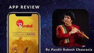 myGurukul App Review by Pandit Rakesh Chaurasia   Learn Flute Online   Flute Lessons