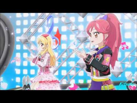 【HD】Aikatsu! - episode 65 - Ichigo & Seira - KIRA☆Power - with changing