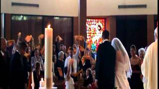A Pittsburgh Steeler (Rear Angle) Terrible Towel Wedding in Kansas City - Bride is shocked!