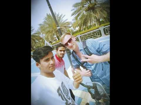 Me and my  friends in corniesh beach abu dhabi