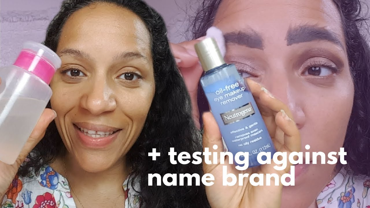 Diy Eye Makeup Remover Testing Against Neutrogena Brand Even
