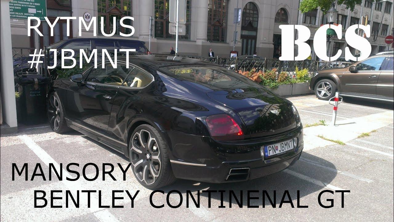 Bentley Continental GT Mansory in Bratislava