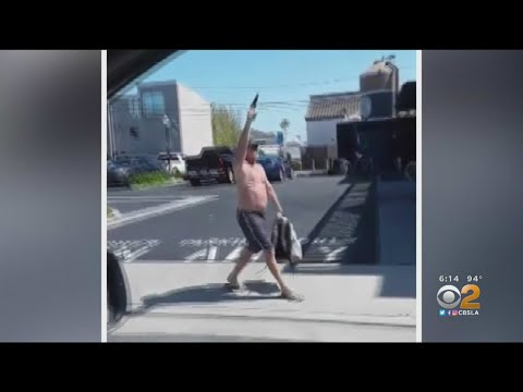 Newport Beach Man Charged After Waving Gun Near Black Lives Matter Protesters