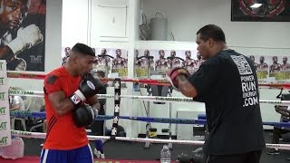 Yuriorkis Gamboa Padwork Inside The Mayweather Boxing Club