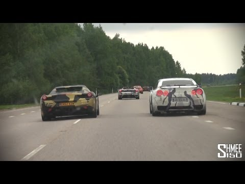 Ballin' from Tallinn to Riga - Switzer GT-R, Edo Competition 997 and more!