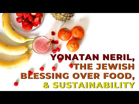 jewish blessing over food