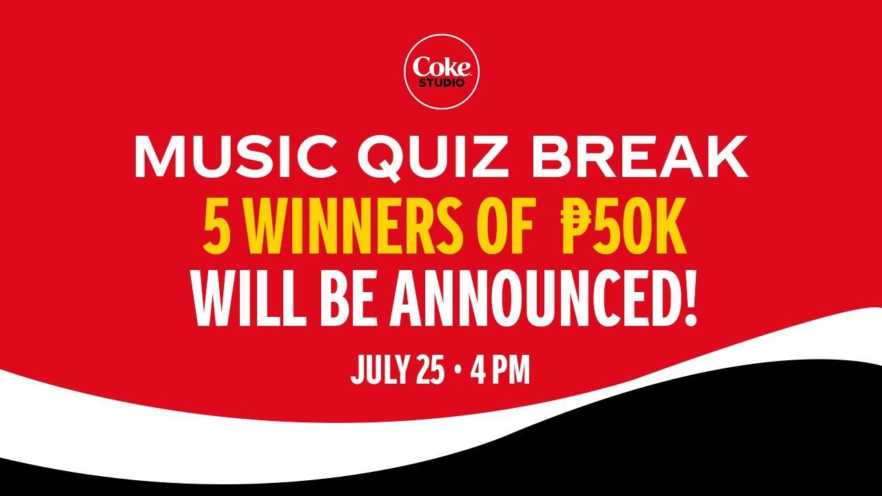 COKE STUDIO ITODO MO BEAT MO: Music Quiz Break and Week 10 Raffle Draw