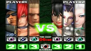 The King of Fighters Maximum Impact Regulation A (PS2) Playthrough