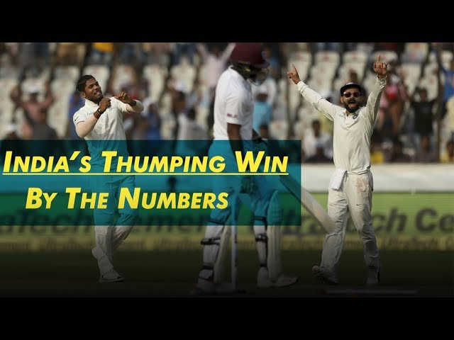 India's dominance over West Indies | By The Numbers