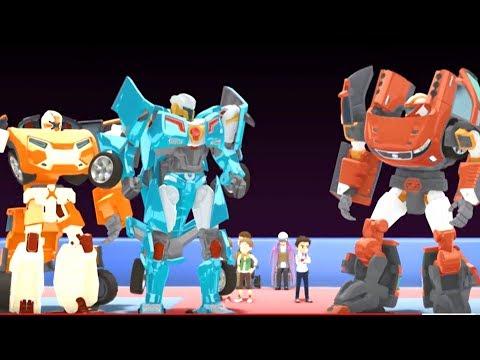 Тоботы новые серии - 5 Серия 3 Сезон - мультики про роботов трансформеров [HD]