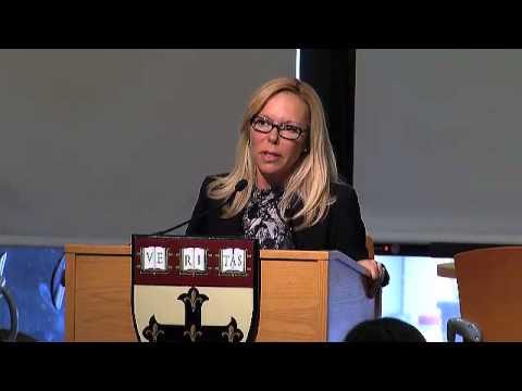 Woman Care Global CEO, Saundra Pelletier, at the Harvard School of Public Health