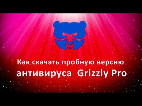 Как скачать пробную версию антивируса Grizzly Pro