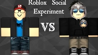 Are People Treated Differently By Their Look?| ROBLOX SOCIAL EXPERIMENT|