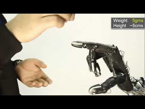 Actuation system, for dexterous tendon-driven hands