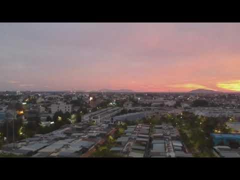 Sunset in Ba Ria city. Hoàng hôn ở tp.Bà Rịa