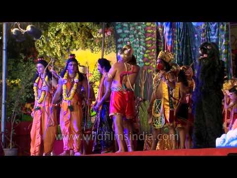 Sree Ram with brother Lakshman, Hanuman and Vibhishan reached Lanka
