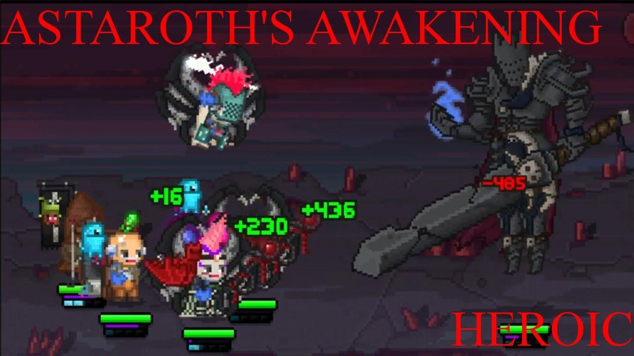 Bit Heroes Guide >> Bit Heroes Astaroth S Awakening Heroic Raid Youtube