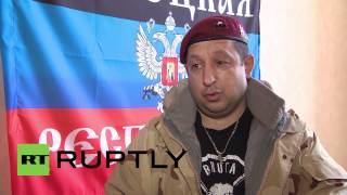 ukraine we do a righteous thing says serbian dnr volunteer